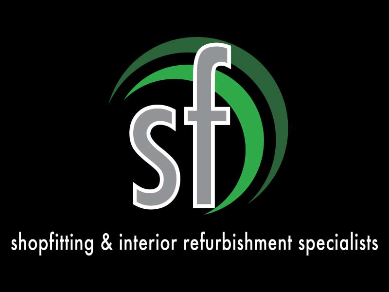 Logo designed for Stoneforce shopfitting and interior fitting specialists